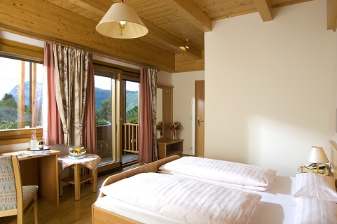 Doppelzimmer im Landhaus des Hotel Zollner